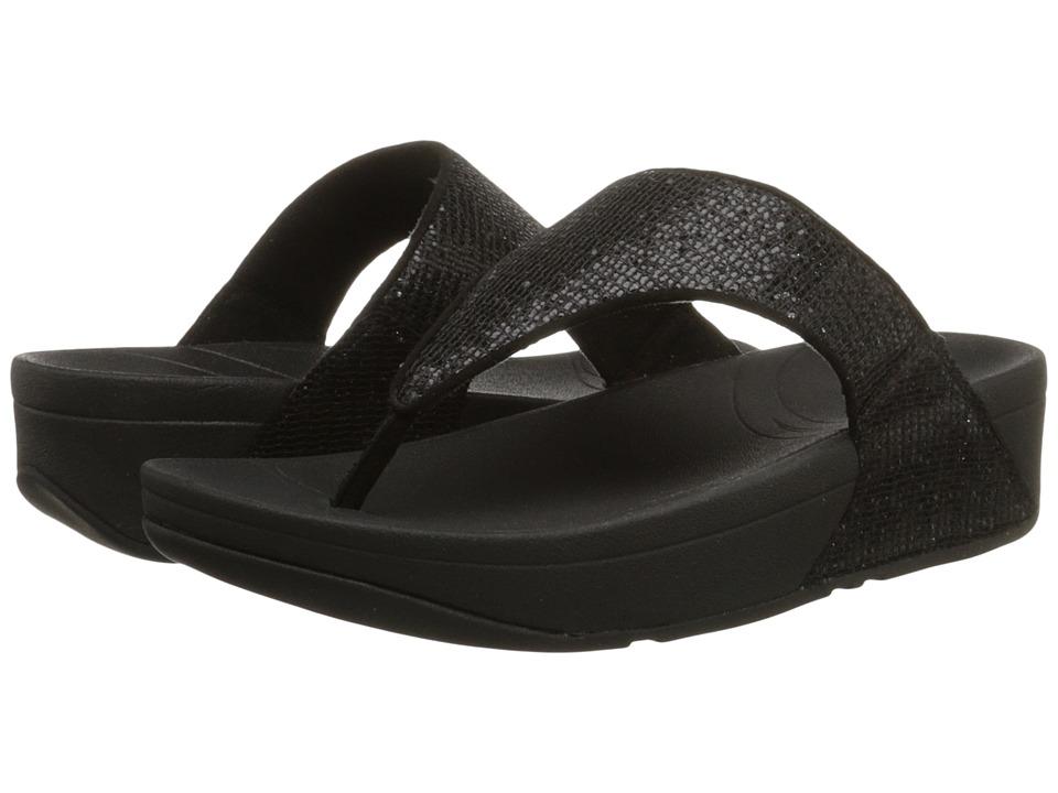 FitFlop - Lulutm Superglitz (Black) Women's Sandals