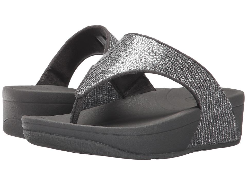 FitFlop Lulutm Superglitz (Silver) Sandals