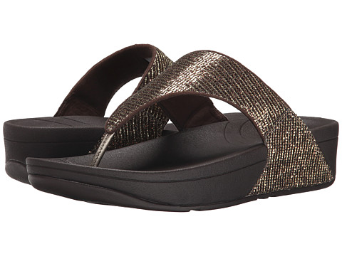 FitFlop Lulu™ Superglitz - Copper