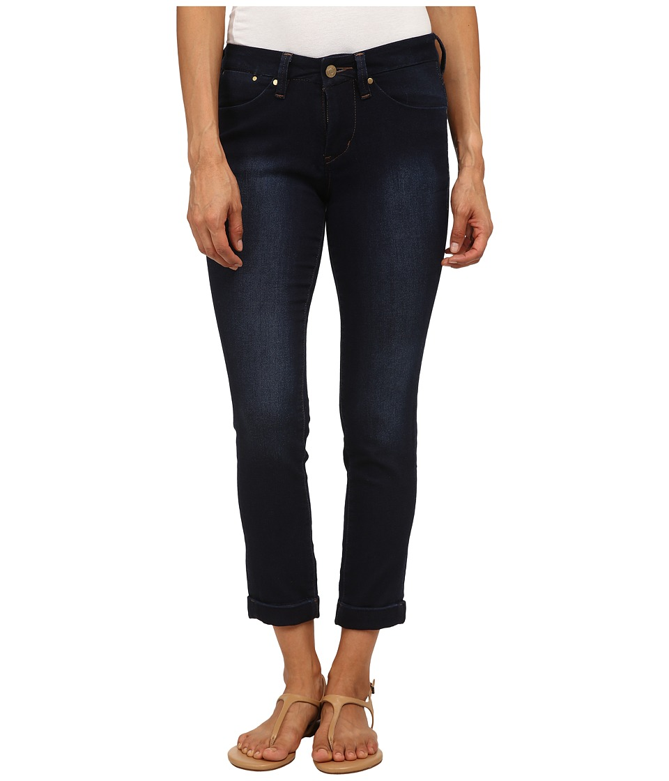 Jag Jeans Petite Petite Erin Cuffed Ankle in Dark Whale Dark Whale Womens Jeans