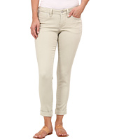 Jag Jeans Petite - Petite Erin Cuffed Ankle Knit Denim in Khaki
