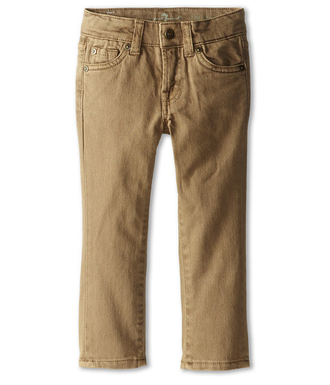 7 For All Mankind Kids Straight Leg Jeans in Sand (Toddler) at 6pm.com
