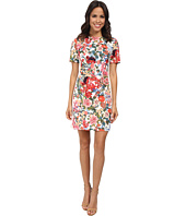 Adrianna Papell - Painted Multi Placed Print Sheath