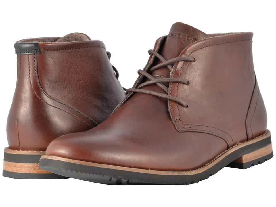 Rockport Ledge Hill 2 Chukka Boot (Dark Brown) Men's Boots
