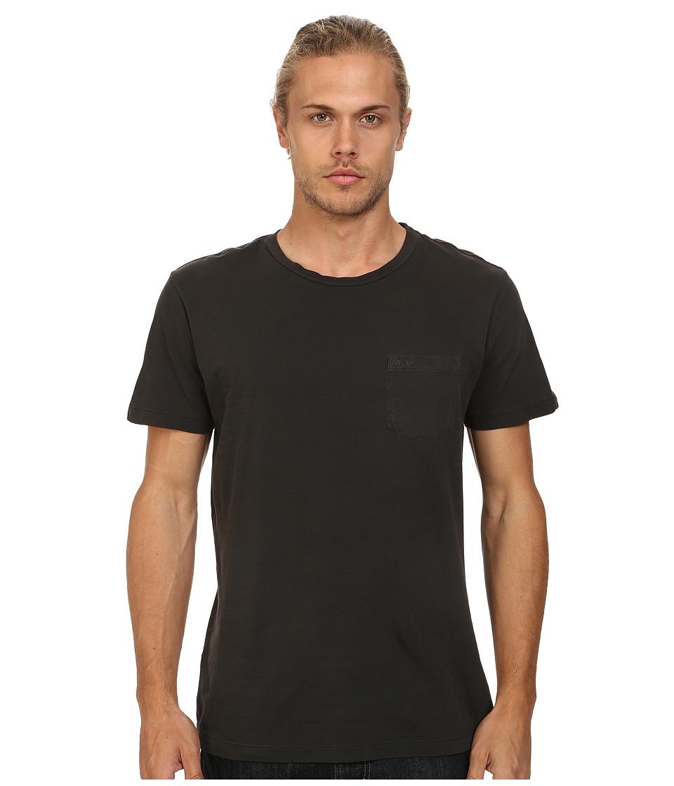 RVCA PTC 2 Pigment Knit Tee Coalmine Mens T Shirt