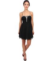 Alejandra Sky - Rhinestone Bustier Dress