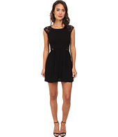 Gabriella Rocha - Mara Crepe Cap Sleeve Lace Dress