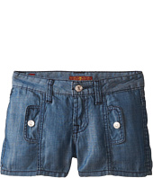 7 For All Mankind Kids - Shorts in Chambray (Big Kids)