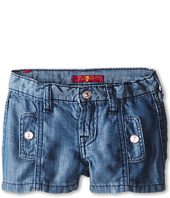 7 For All Mankind Kids - Shorts in Chambray (Little Kids)
