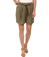 Vince Camuto - Belted Shorts w/ Pleats