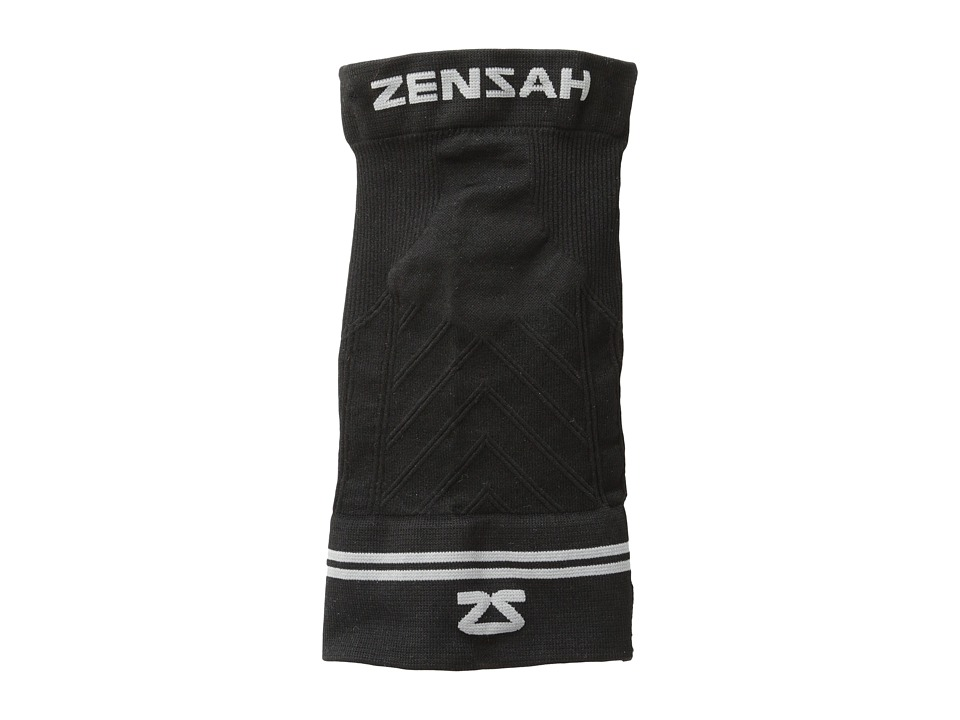 Zensah Compression Elbow Sleeve Black Running Sports Equipment