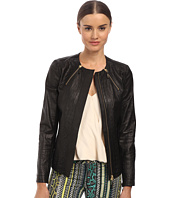Just Cavalli - Scoop Neck Moto Jacket