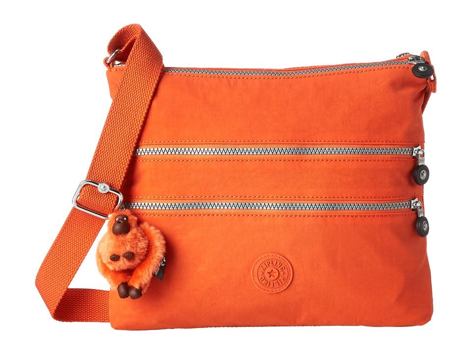 Kipling - Alvar Crossbody Bag (Spicy Orange) Cross Body Handbags
