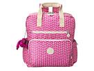 Kipling Audra Printed Baby Backpack (Chevron Magenta Print)