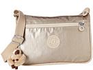 Kipling Callie Metallic Handbag (Champagne Metallic Combo)