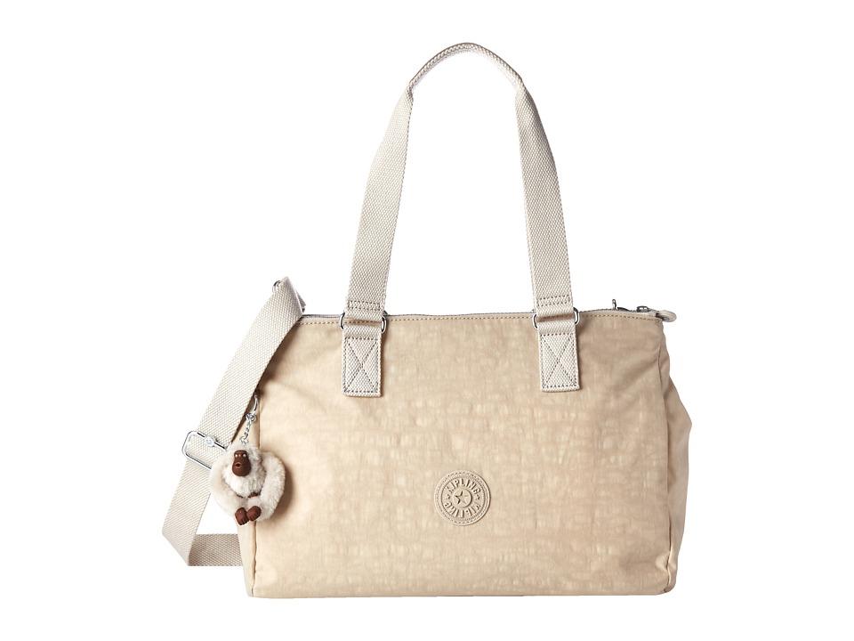 Kipling Katarina Creme Beige Mix Handbags