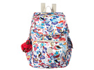 Kipling Ravier Backpack (Whimsy Floral Print)