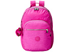 Kipling Seoul Backpack with Laptop Protection (Pink Orchid)