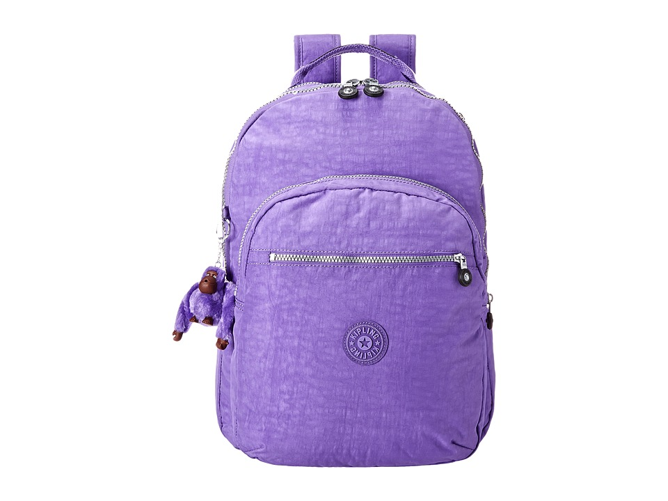 Kipling Seoul Backpack with Laptop Protection French Lavender Backpack Bags