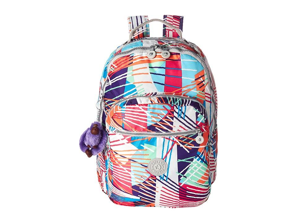 Kipling Seoul Backpack with Laptop Protection Fiesta Print Backpack Bags