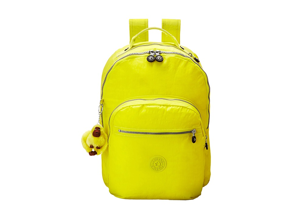 Kipling Seoul Backpack with Laptop Protection Honey Dew Backpack Bags