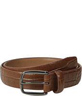 Johnston & Murphy - Croc Print Belt