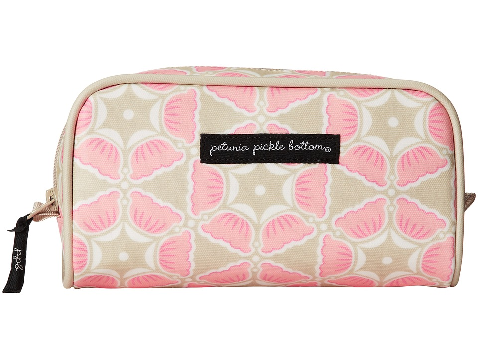 petunia pickle bottom - Glazed Powder Room Case (Blooming Brixham) Cosmetic Case