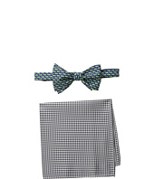 Tommy Hilfiger - Turtle Gingham Bowtie and Pocket Square Set