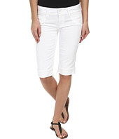 Hudson - Palerme Knee Cuffed Shorts in White