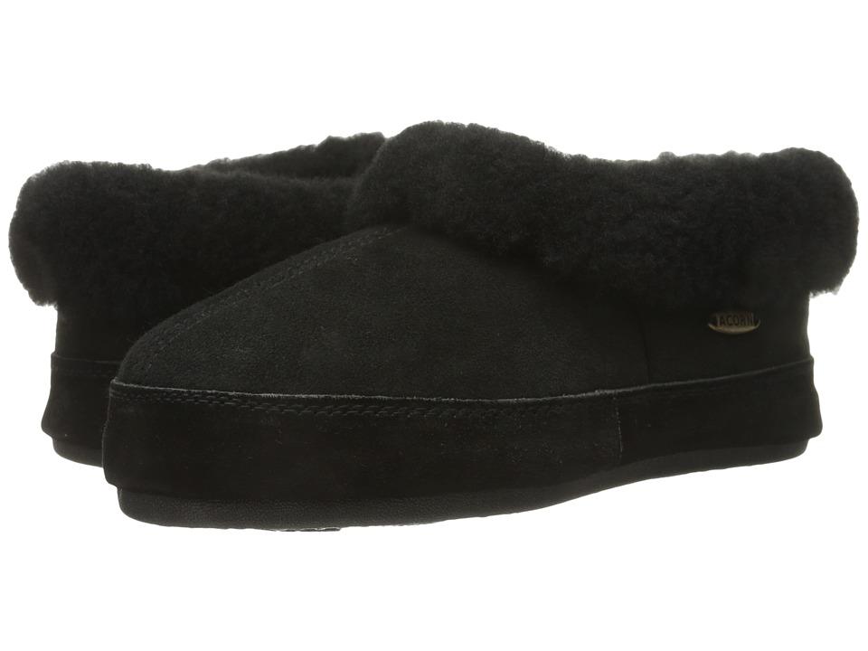 Acorn Oh Ewe II Coal Womens Slippers