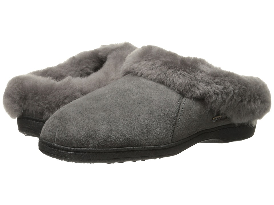 Acorn Ewe Collar (Ash) Slippers