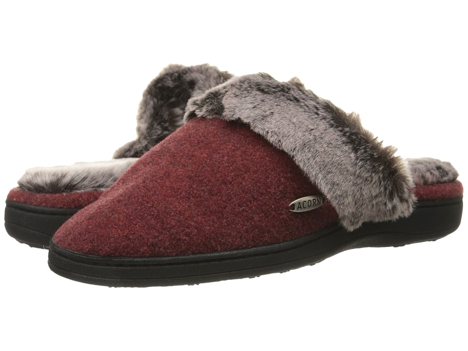 Image of Acorn - Chinchilla Scuff (Crackleberry) Women's Slippers