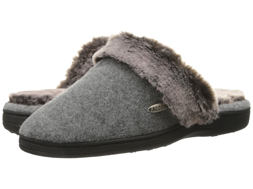 Image of Acorn - Chinchilla Scuff (Stone) Women's Slippers