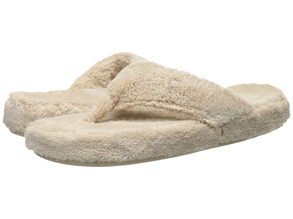 Acorn New Spa Thong (Taupe) Slippers