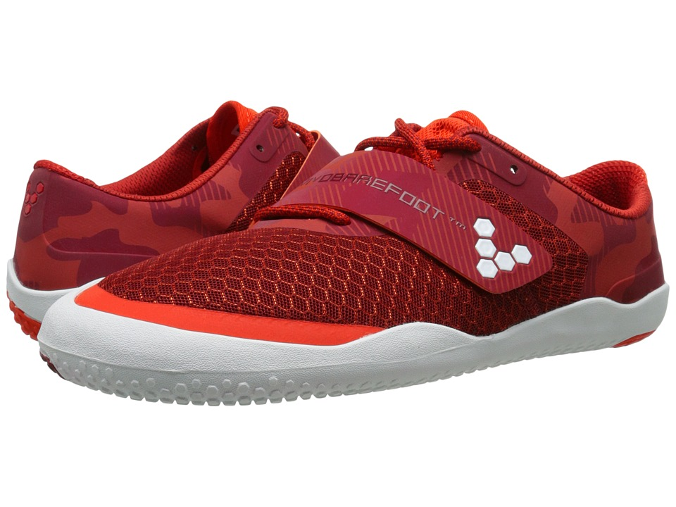 Vivobarefoot - Motus (Red Camo) Mens Cross Training Shoes