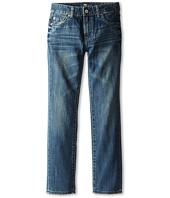 7 For All Mankind Kids - Straight Jeans in Barbados Blue (Big Kids)