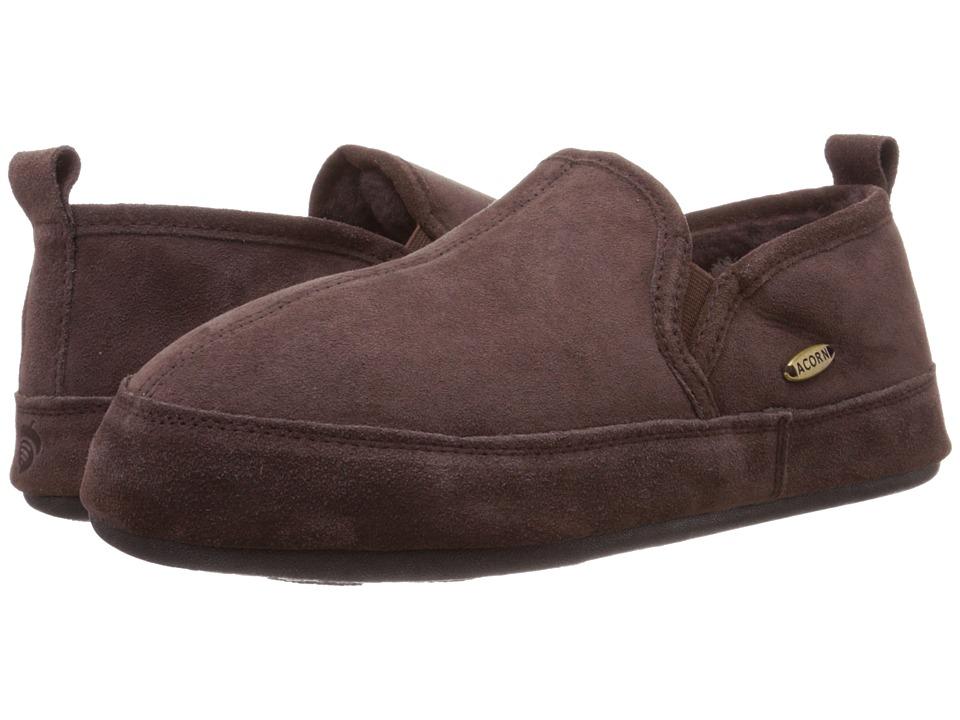 Acorn Romeo II Chocolate Mens Slippers