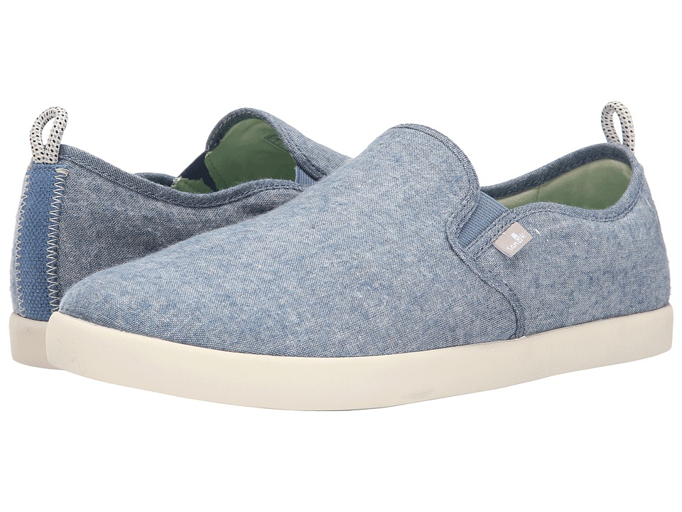 Sanuk - Range TX (Blue Chambray) Men