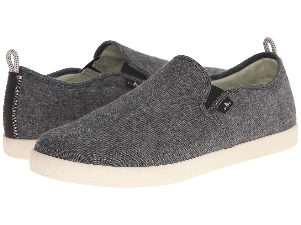 Sanuk - Range TX (Black Chambray) Men