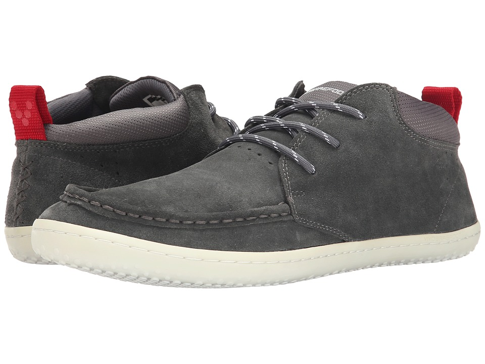 Vivobarefoot Drake Dark Grey Mens Shoes