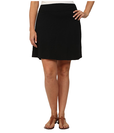 Fresh Produce - Plus Size Marina Skirt (Black) Women's Skirt