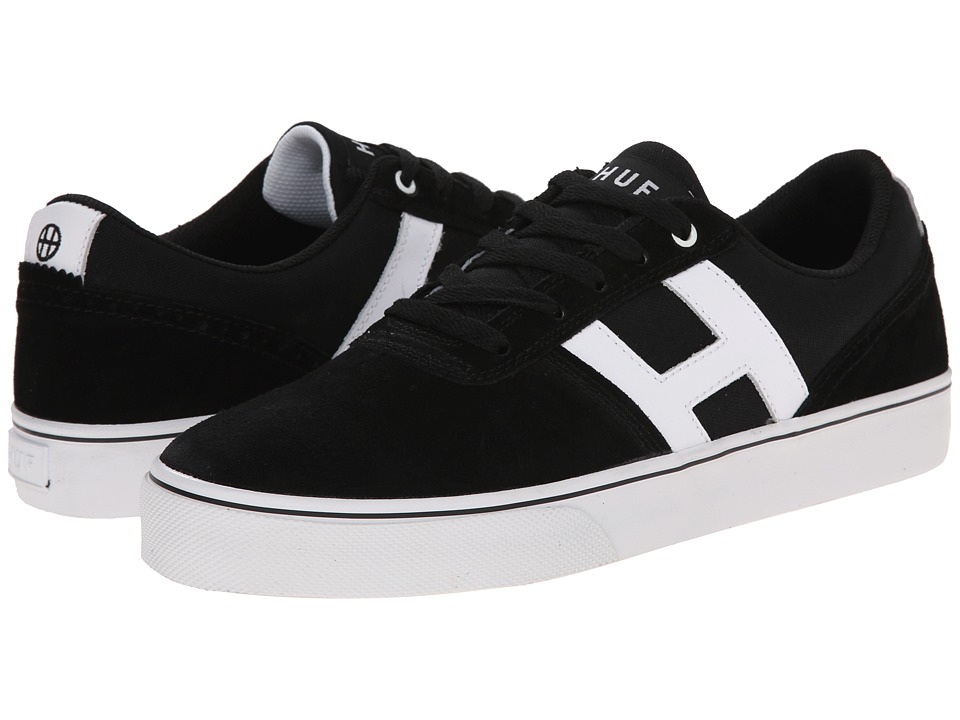 HUF Choice Black/White Mens Skate Shoes