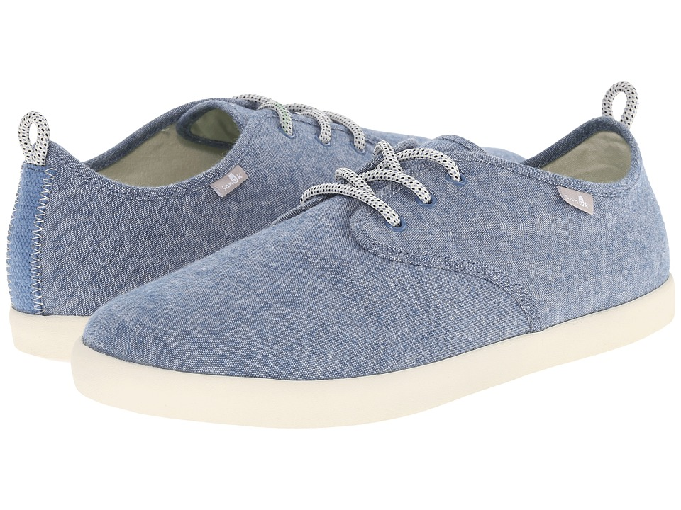 Sanuk - Guide TX (Blue Chambray) Men