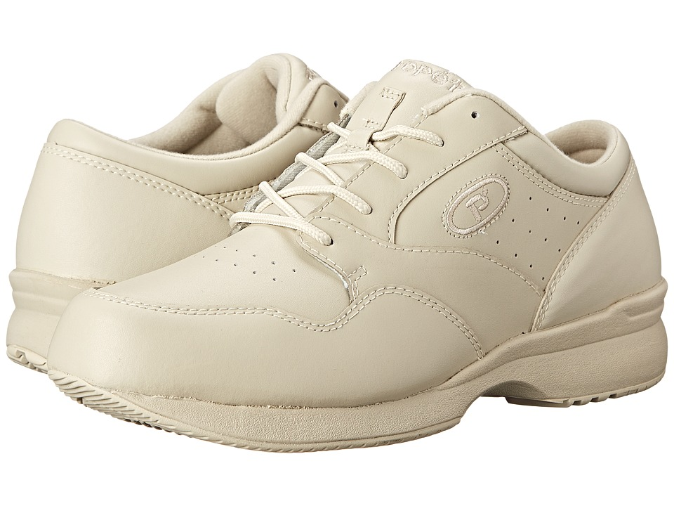 Propet - Life Walker Medicare/HCPCS Code = A5500 Diabetic Shoe (Sport White) Mens Lace up casual Shoes
