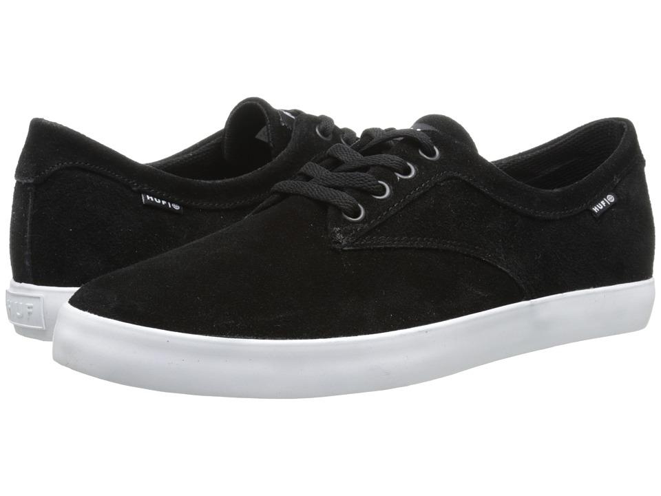 HUF - Sutter (Black/White) Mens Skate Shoes