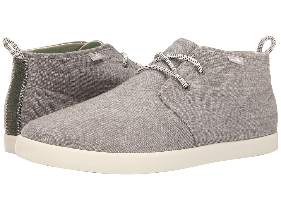Sanuk Cargo TX Olive Chambray Mens Lace up casual Shoes