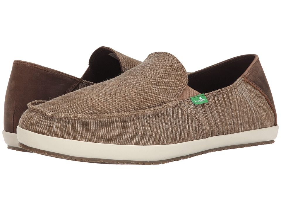 Sanuk - Casa Vintage (Brown) Men