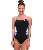 adidas - Solid Infinitex + Splice Vortex Back One-Piece