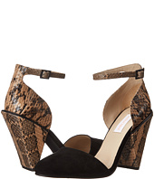 See by Chloe - Suede + Snake Ankle Strap Sandal