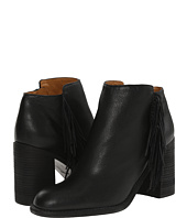 See by Chloe - Pebbled Leather Bootie with A Fringe